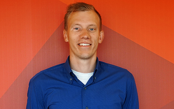 Alexander Bertelsen is project manager in Next Step Challenge