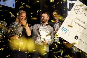 Instamic winner of Next Step Challenge elite business development 2016