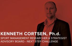 Kenneth Cortsen er rådgiver i Next Step Challenge
