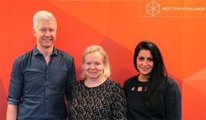 Søren Røn, Lisbeth Valther og Noor Meng er nye ejere af Next Step Challenge