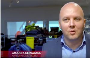 Jacob Kjærsgaard fra Blue Water Shipping er partner i Next Step Challenge