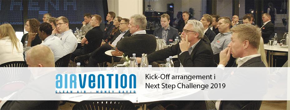 Hvordan får du succes med din virksomhed? Gør som Airvention der deltager i Next Step Challenge 2019