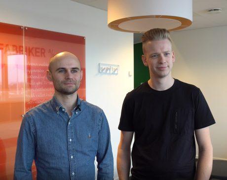 Mikkel Rodkjær (left)