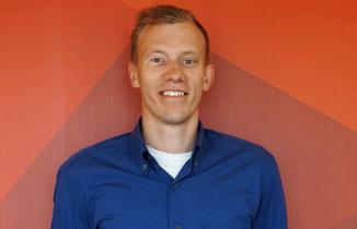 Alexander Bertelsen er projektleder for offshore i Next Step Challenge