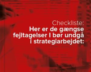 Checkliste til den bedste strategi